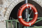 Rode leven buoy — Stockfoto