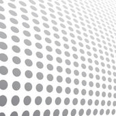 Halftone dots abstract background. Vector illustration — Stock Vector