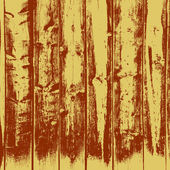 Wooden texture background, Realistic plank. Vector illustration. — Stockvector