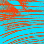 Texture  blue  wall with bloody red stains. Vector illustration. — 图库矢量图片