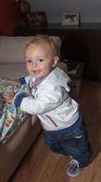 Pretty little baby boy — Stock Photo