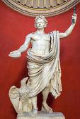 Statue of Emperor Claudius in the Vatican Museum — Stock Photo