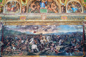 The fresco of the 16th century in Vatican Museum — 图库照片