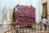 Sarcophagus of Helena (mother of Constantine the Great) in Vatic — Stock Photo