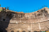 Remains of the majestic dome - the ruins of the Baths of Dioclet — Stock Photo