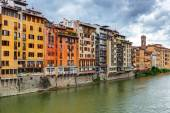 Embankment in Florence — Stock Photo