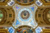 Interior of Saint Isaac's Cathedral in Saint Petersburg — Foto de Stock