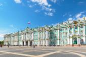 The Winter Palace in Saint Petersburg, Russia — Stock Photo