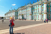 Winter Palace in Saint Petersburg, Russia — Stock Photo