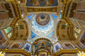 Interior of Saint Isaac's Cathedral in Saint Petersburg, Russia — Stock Photo