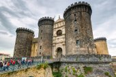 The Castel Nuovo, Naples, Italy — Stock Photo