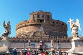 Castel Sant Angelo in Rome, Italy — Stock Photo
