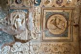 Detail of the interior baths in Pompeii, Italy — ストック写真