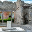 Ruins of a house in Pompeii, Italy — Stock Photo #57582759