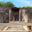 Ruins of a house in Pompeii, Italy — Stock Photo #57618049