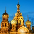 Church of the Savior on Spilled Blood at night in St. Petersburg — Stock Photo #57723097