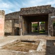 Ruins of a house in Pompeii, Italy — Stock Photo #58291745