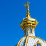 Peterhof Palace (Petrodvorets) in Saint Petersburg, Russia — Stock Photo #58805225
