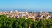 Panoramic view of Rome — Stock Photo