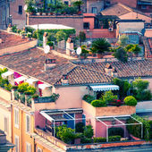 Beautiful rooftops of Rome — Stock Photo