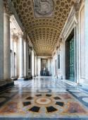 Interiér Basilica di San Giovanni in Laterano, Řím — Stock fotografie