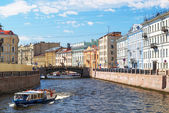 The Moyka River in St. Petersburg — Stock Photo