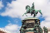 Monument to Nicholas I in St. Petersburg — Stock Photo