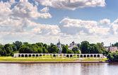 Jaroslavova soud Velikij Novgorod — Stock fotografie