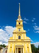 Peter and Paul Cathedral in Saint Petersburg — Stockfoto