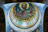 Ceiling of the Church of the Savior on Spilled Blood, St Petersb — Stock Photo