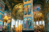 Interior of Church of the Savior on Spilled Blood, St Petersburg — Stock fotografie