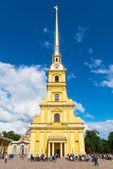 Peter e Paul catedral em São Petersburgo, Rússia — Fotografia Stock