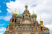 Church of the Savior on Spilled Blood, St Petersburg — Stockfoto