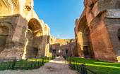 The ruins of the Baths of Caracalla in Rome — Stock Photo