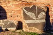 Detail of the decoration of Baths of Caracalla in Rome — Stock Photo