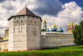 Trinity Sergius Lavra in Sergiyev Posad near Moscow — Photo
