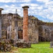 Ruins of a house in Pompeii, Italy — Stock Photo #72085495