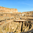 Inside of Colosseum (Coliseum) in Rome, Italy — Stock Photo #72606443