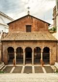Basilica di San Vitale in Rome — Stock Photo