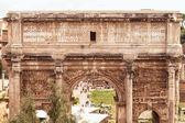 Arch of Emperor Septimius Severus in Rome — Stockfoto