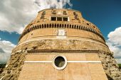 Castel Sant Angelo (Castle of the Holy Angel) in Rome — Stock Photo