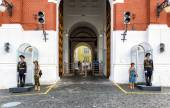 The entrance to the Moscow Kremlin — Stock Photo