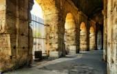 Inside the Colosseum (Coliseum) in Rome — Stock Photo