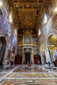 Interior of the Basilica di San Giovanni in Laterano, Rome — Stock Photo