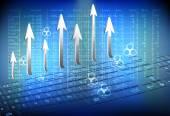 Business advancement — Stock Vector