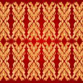 Art pattern Bayon style — Stockvektor