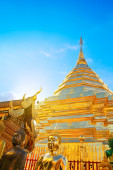Wat Phra That Doi Suthep — Stock Photo