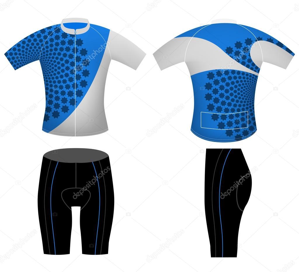 Dise o de chaleco ciclismo uniforme deportivo archivo for Disenos de chalecos
