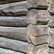 Angle old log home, close up — Stock Photo #58967397