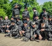Brigade Tallinn chimney — Zdjęcie stockowe